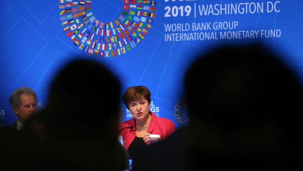 FOTO FMI reclama a México que favorezca sector privado; en la imagen, la directora del Fondo Monetario Internacional, Kristalina Georgieva (AP)