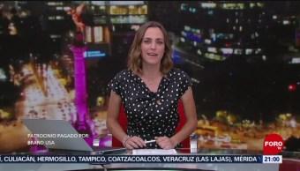 Foto: Las Noticias Ana Francisca Vega Programa Completo Forotv 18 Octubre 2019