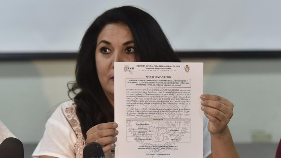 FOTO Gana 'Ley Bonilla' en consulta ciudadana de Baja California (Cuartoscuro/Sergio Caro)