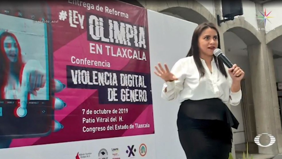 Olimpia Coral, caso que aprobó ley contra violencia sexual en redes sociales