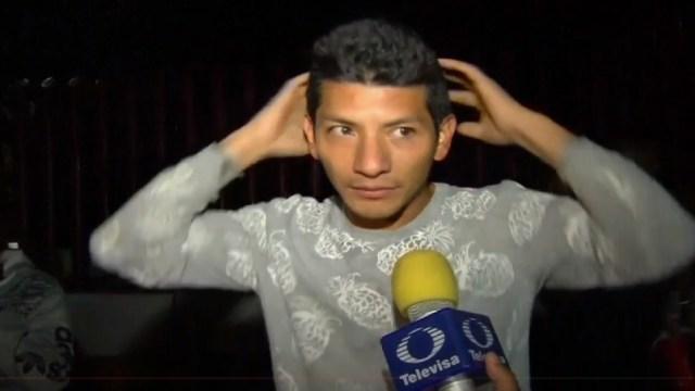 """FOTO: """"Me pegaron y nos privaron de la libertad"""", dijo Héctor, uno de los liberados."""