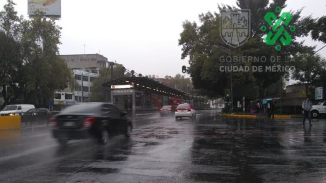 Foto: Alcaldías de la CDMX registran lluvias,17 de octubre de 2019, Ciudad de México