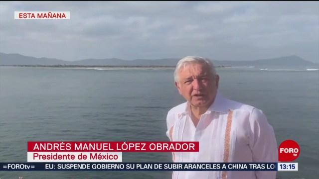 FOTO: López Obrador envía condolencias a Marcelo Ebrard, 13 octubre 2019