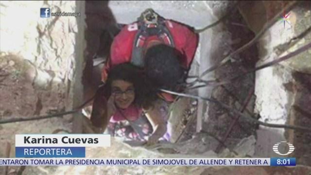 Lucy Zamora, sobreviviente del sismo 19S, ahora es escritora