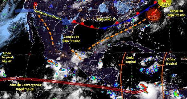 Foto: Imagen de fenómenos meteorológicos significativos de las 06:00 horas, 9 octubre 2019