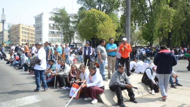 Foto: Se prevén varias movilizaciones sociales en la Ciudad de México, 25 octubre 2019