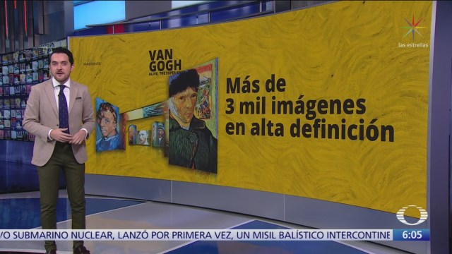 Más de tres mil imágenes de 'Van Gogh' llegarán a México