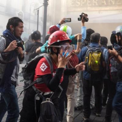 Marcha del 2 de octubre deja 14 heridos y ningún detenido