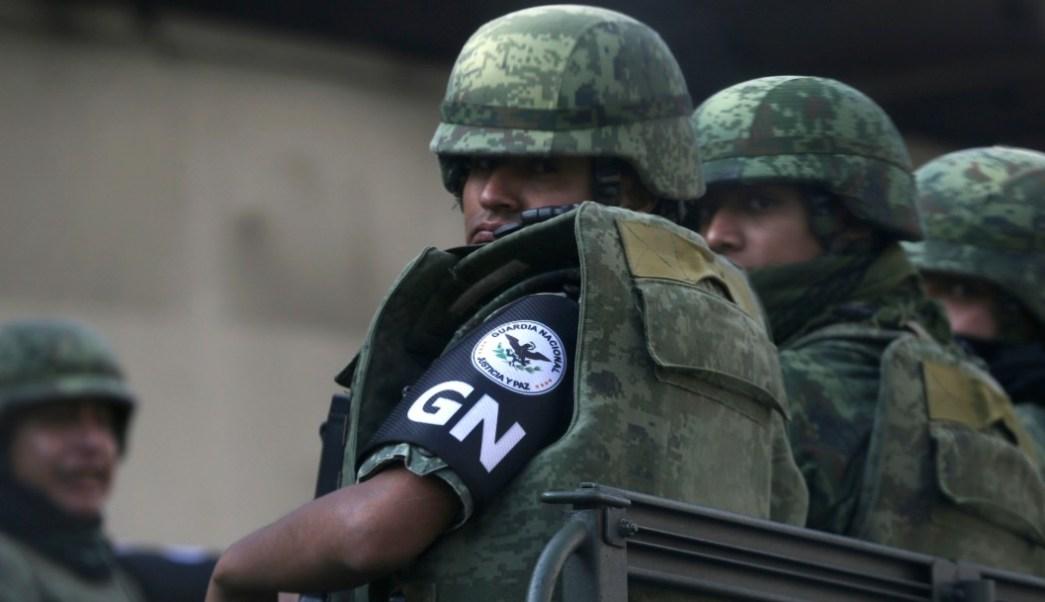Foto: Miembros de la Guardia Nacional, 4 de julio de 2019, Ciudad de México