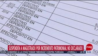 Foto: Ministro Suspendido Depósitos Tres Millones Pesos 14 Octubre 2019