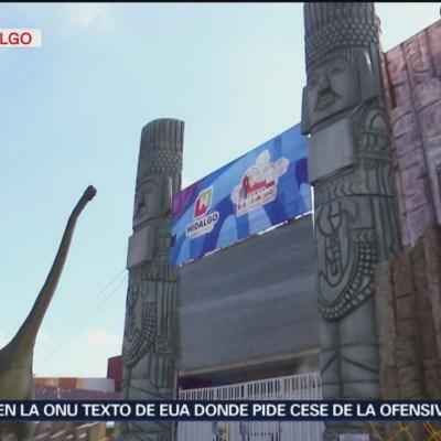 Muere niña en juego mecánico de la Feria de Pachuca