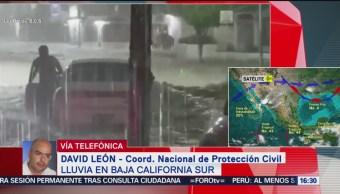 FOTO: Muere una persona por lluvias Baja California