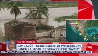 FOTO: Narda Dejó Severas Afectaciones Costas Pacífico Mexicano
