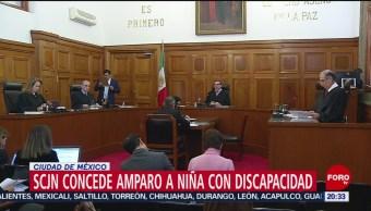Foto: Niña Discapacidad Gana Amparo Acceso Educación Pública 23 Octubre 2019