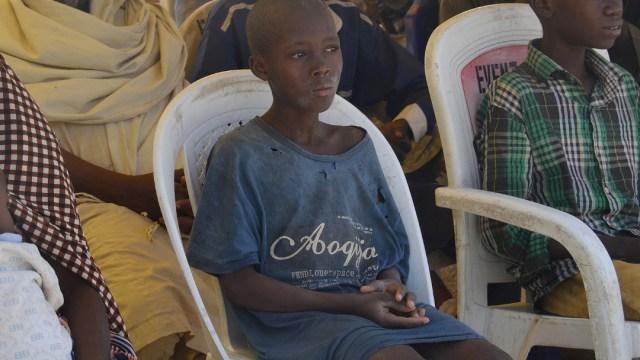 FOTO Nigeria libera a 23 niños acusados de pertenecer a Boko Haram (AP,archivo)