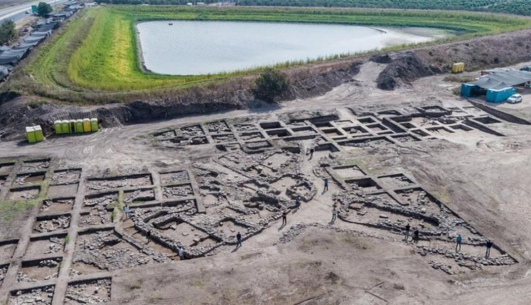 Foto: Nuevo descubrimiento urbano en Israel. 7 Octubre 2019