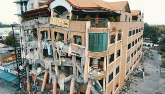FOTO Nuevo sismo Filipinas magnitud 6.5 deja al menos 3 muertos