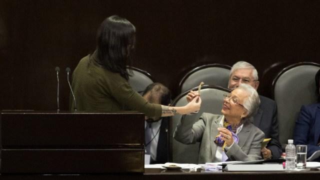 diputada regala churro marihuana olga sanchez cordero