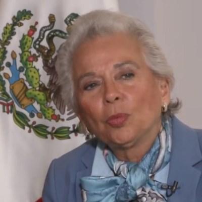 Olga Sánchez Cordero, a favor de aborto y marihuana