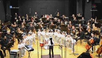 Foto: Orquesta Infantil Tamaulipas Interpreta Mambo Politécnico 18 Octubre 2019