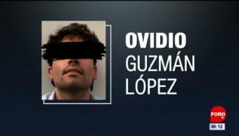 Ovidio Guzmán se encuentra libre: Abogado