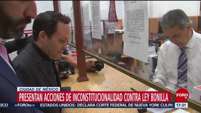 FOTO: PAN MC presentan primeras acciones contra Ley Bonilla