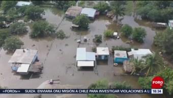 Foto: Tamaulipas Lluvias Inundaciones Frente Frío 24 Octubre 2019