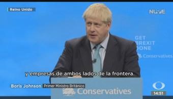 FOTO: Piden Boris Johnson Propuestas Concretas Para Desbloquear Brexit,