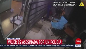 FOTO: Policía mata a afroamericana al interior de su casa, 13 octubre 2019