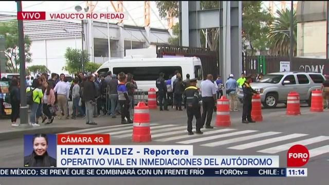 Foto: Formula 1 Policías Agilizan Circulación Vial Ciudad Deportiva 26 Octubre 2019