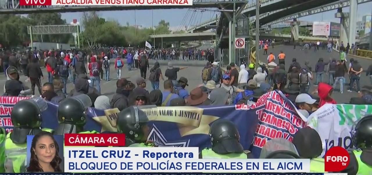 FOTO: Policías Federales Exigen Indemnización