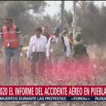 Foto: Accidente Martha Erika Alonso SCT Posponen Informe 25 Octubre 2019
