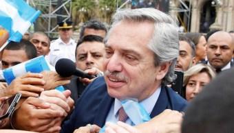 Foto: Desde que el domingo pasado se convirtió en presidente electo de Argentina al obtener el 48,10 % de los votos -frente al 40,37 % que cosechó su principal adversario, el actual mandatario Mauricio Macri-, 30 de octubre de 2019 (EFE)