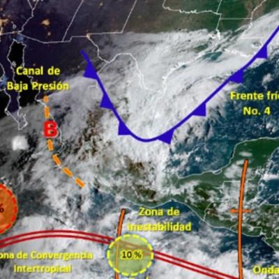 Prevén formación de depresión tropical cerca de BCS