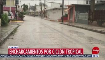 Prevén lluvias en Colima por remanentes del ciclón tropical 17-E