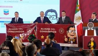 Foto: Profeco entrega reconocimiento a gasolineras con precios más bajos, 21 de octubre de 2019, Ciudad de México