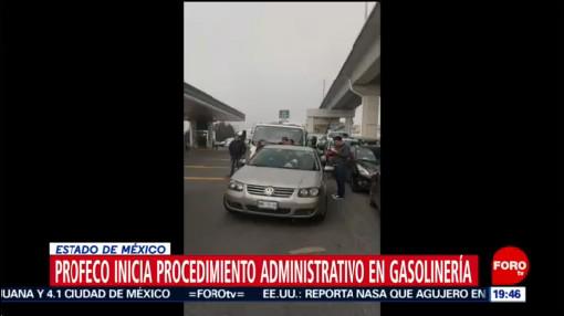 Foto: Profeco Procedimiento Administrativo Gasolinera Edomex Gasolina Agua 22 Octubre 2019