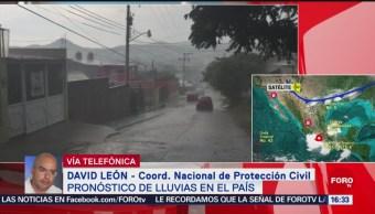 FOTO: Protección Civil mantienen alerta por tormenta