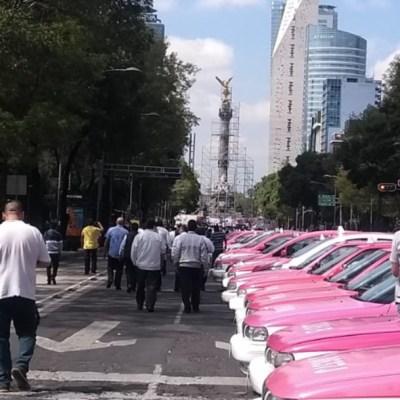 Protestas de taxistas podrían durar dos días