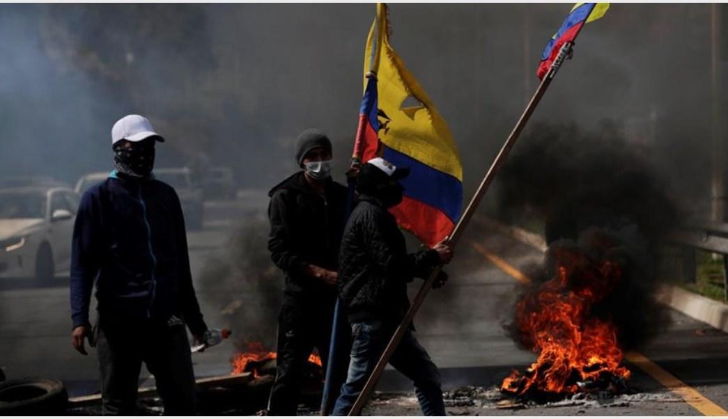 Foto: Quito, en Ecuador, vivió este sábado un nuevo día de protestas, 12 de octubre de 2019 (EFE)