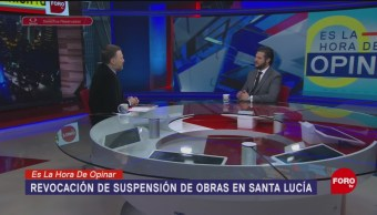 Foto: Qué Pasará Amparos Aeropuerto Santa Lucía 10 Octubre 2019