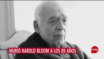 FOTO: Quién era Harold Bloom,