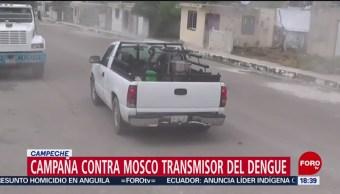 FOTO: Realiza campaña contra mosco transmisor dengue Campeche