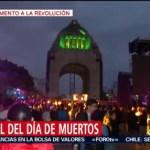 Foto: Festival Día Muertos Monumento Revolución CDMX Hoy 24 Octubre 2019