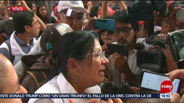 FOTO: Reportan Tres Heridos Una Persona Detenida Durante Marcha 2 De Octubre