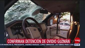 Foto: Fotos Detención Hijo Chapo Ovidio Guzmán Culiacán 17 Octubre 2019