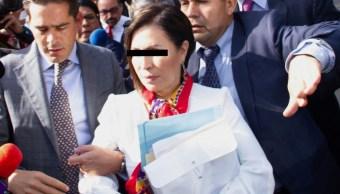 Foto: Robles se encuentra en prisión preventiva, el 15 de octubre de 2019 (Cuartoscuro)
