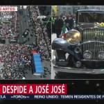 FOTO: Salen Cenizas José José Palacio Bellas Artes Tras Homenaje