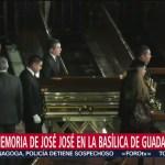 FOTO: Salen restos José José Basílica Guadalupe