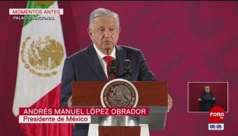 Salida de Romero Deschamps es una etapa nueva, dice AMLO